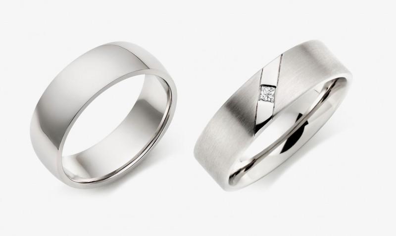 Мужские кольца из палладия.