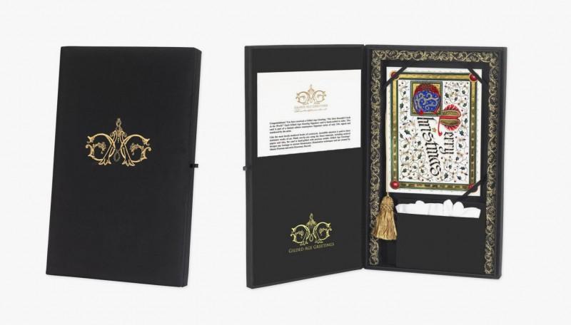 Эксклюзивная упаковка для открыток Gilded Age Greetings