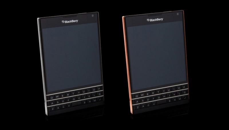 Blackberry Passport от Goldgenie в платине и розовом золоте
