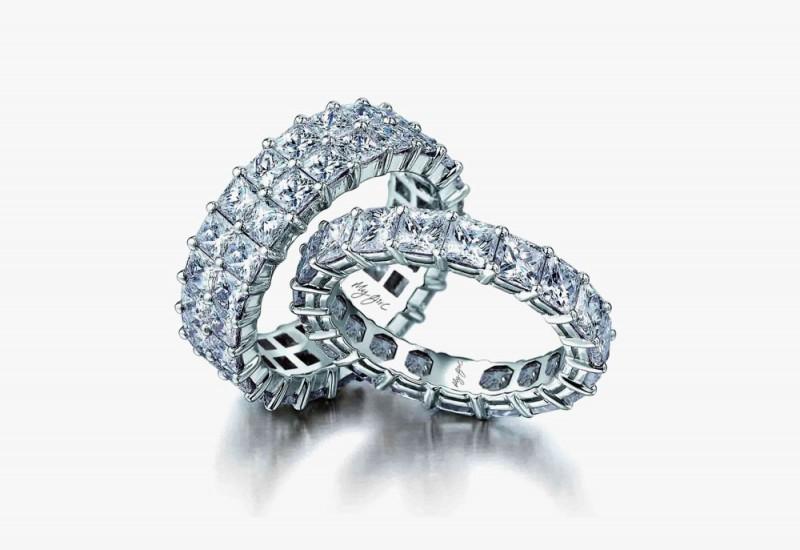 Кольца с бриллиантами My Girl