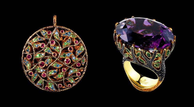 Кулон из кольцо из коллекции Rainforest