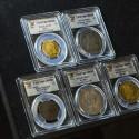 Золотая и серебряная монеты по 10 миллионов долларов