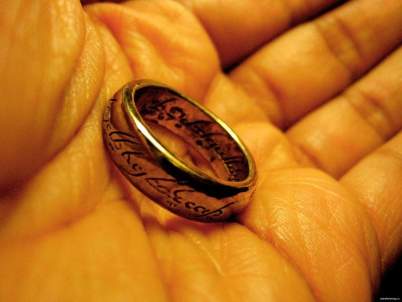 Кольцо Всевластия из фильма «Властелин колец»