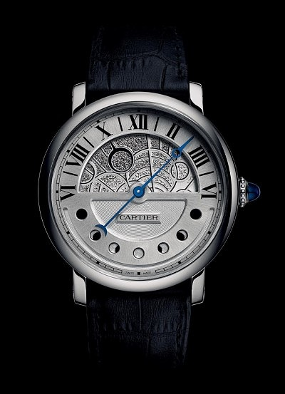 Часы Rotonde de Cartier Day and Night от Cartier.