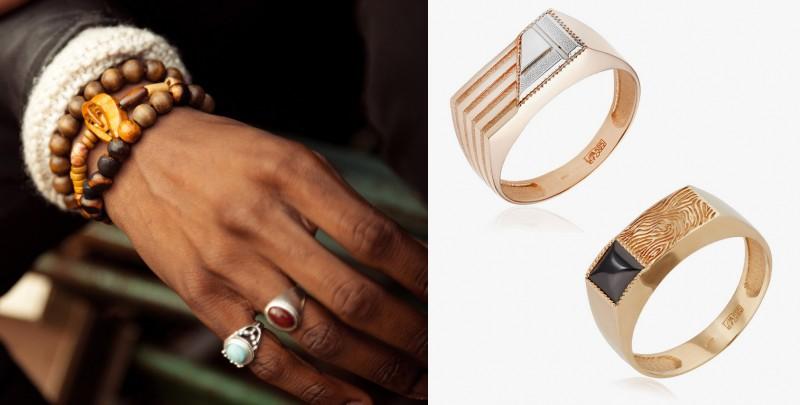 Кольца-печатки и перстни