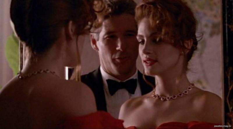 Колье с бриллиантами и рубинами из фильма «Красотка»