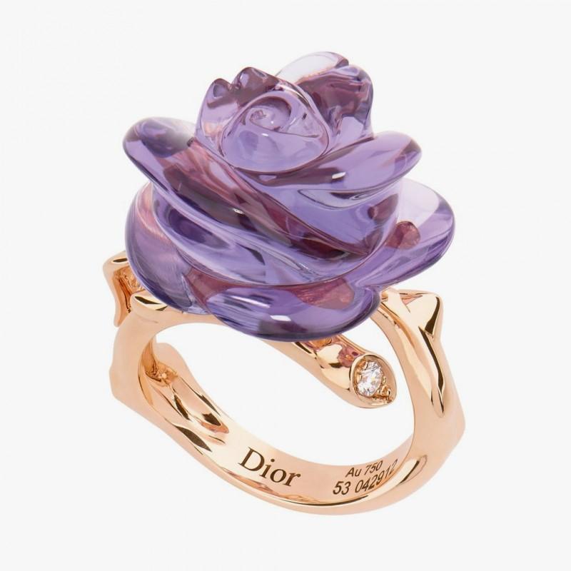 Кольцо из коллекции Rose Pre Catelan от Dior