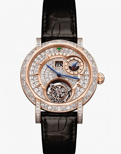 Часы Diamond MasterGraff Grand Date Dual Time Tourbillon