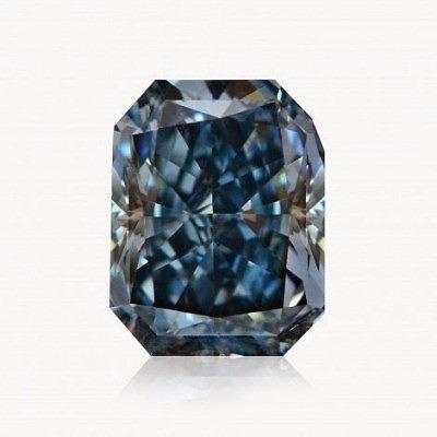 1,44-каратный ярко-синий бриллиант категории чистоты SI1, сертифицированный GIA (цена предоставляется по требованию)