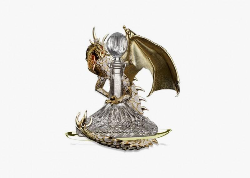 Флакон с драконом от Аниты Май Тай