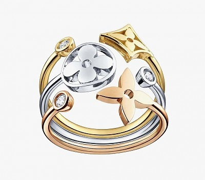 1_Louis Vuitton ring_Monogram Idylle collection