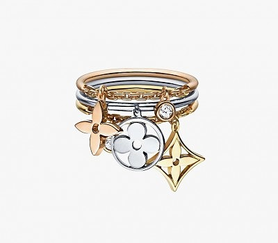 2_Louis Vuitton ring stack_Monogram Idylle collection