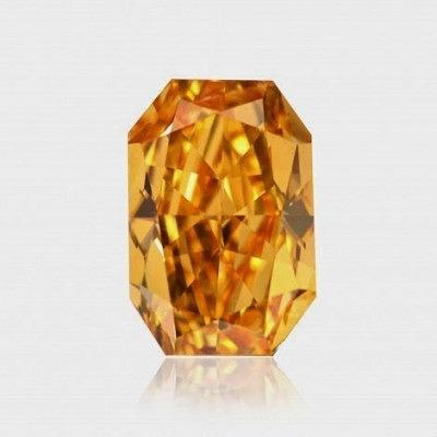 0,79-каратный ярко-оранжевый бриллиант, категория чистоты VS1, сертификат GIA, стоимость – 276 600 долларов.
