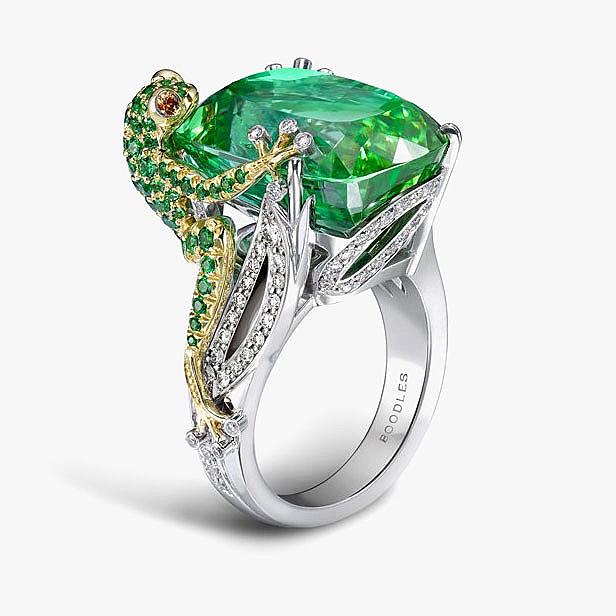 Кольцо Green Frog от Boodles