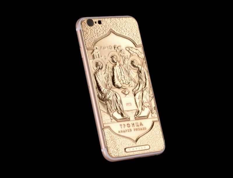 Смартфон iPhone 6 Credo Trinitaот Caviar