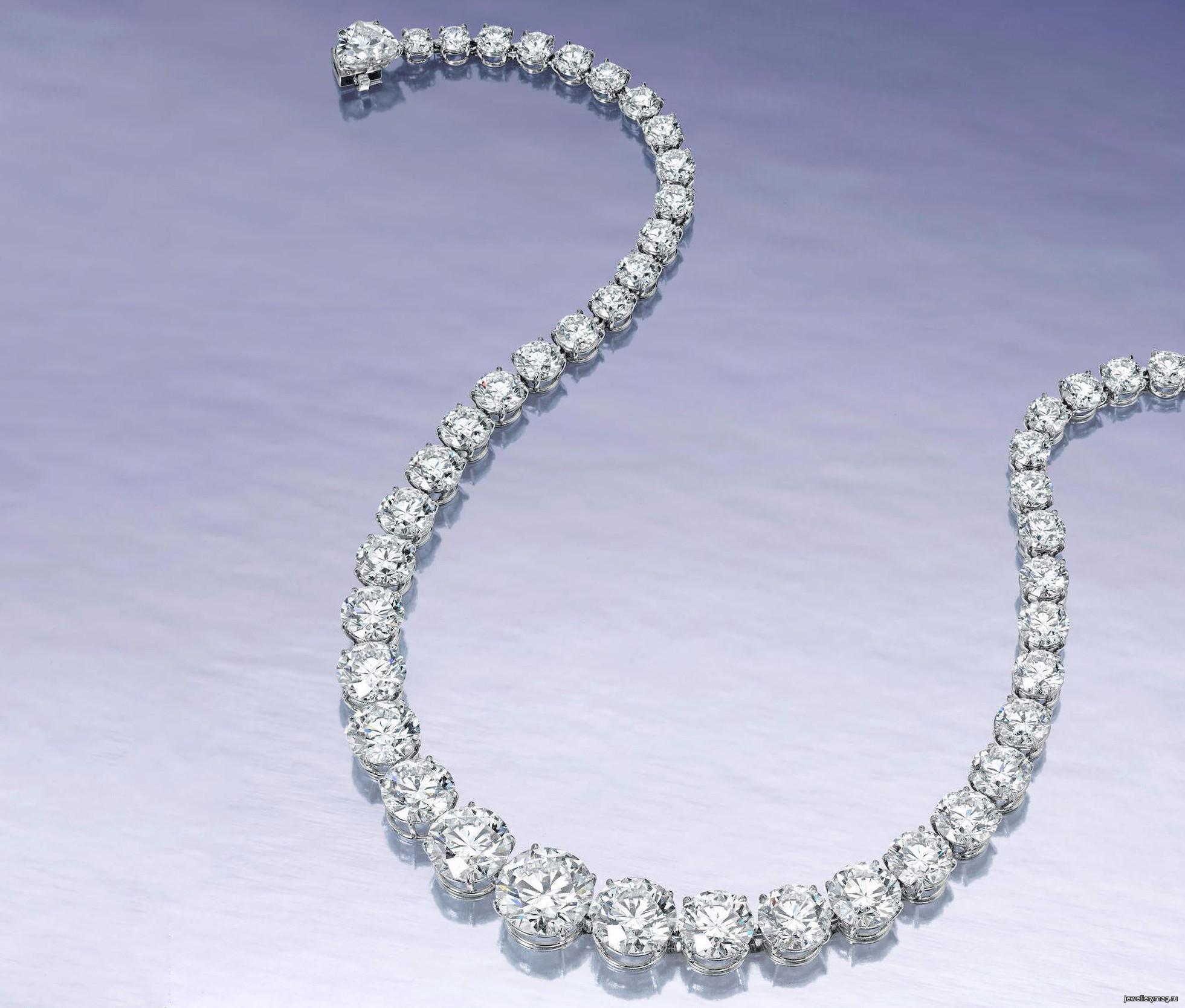 Бриллиантовое колье Triple X продано за 1,2 миллиона долларов
