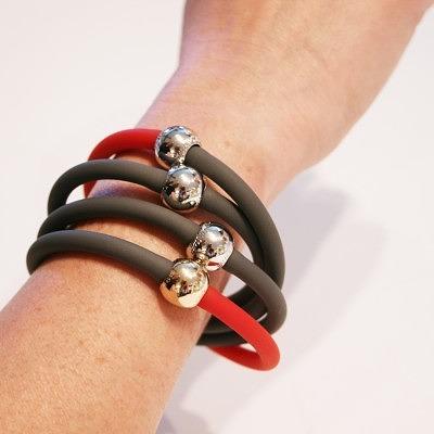 Каучуковые браслеты Tubino от Italianissimo