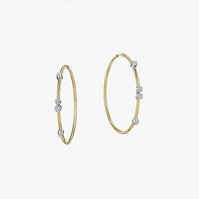 Серьги-кольца из коллекции Flex Forte от A. Link