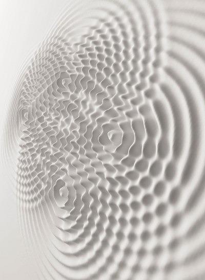 Инсталяция Wallwave Vibration