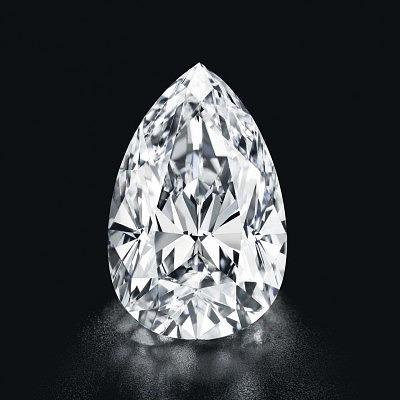 Грушевидный бриллиант весом 55,52 карата ушел за 9,03 миллиона долларов