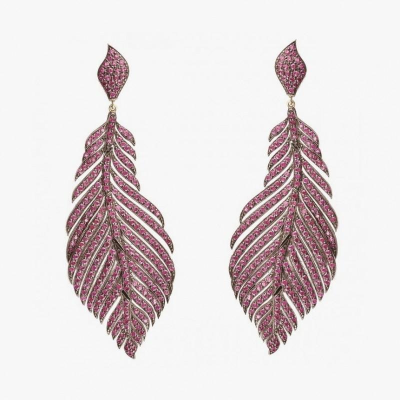 Серьги-перья от Irit Design