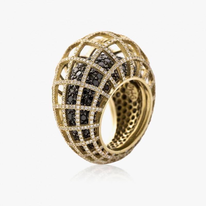 Двойное кольцо от Nada G