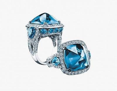 Кольцо с топазами и бриллиантами из коллекции Legacy Brooke
