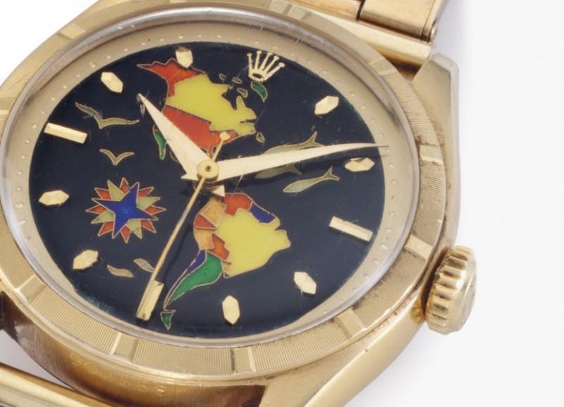 Фото циферблата Rolex Reference 6101