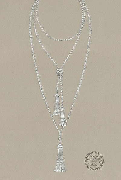 Sketch-pearl-necklace-from-The-Great-Gatsby-Collection