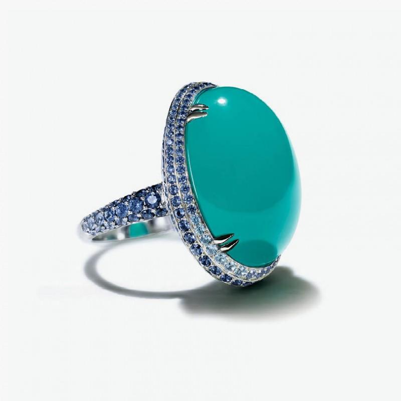 Кольцо от Tiffany & Co. из коллекции Blue Book 2015