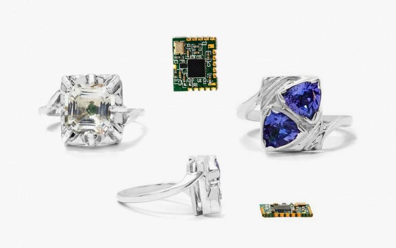 Кольца Fidelity Ring от Gemporia, оснащенные технологией Bluetooth