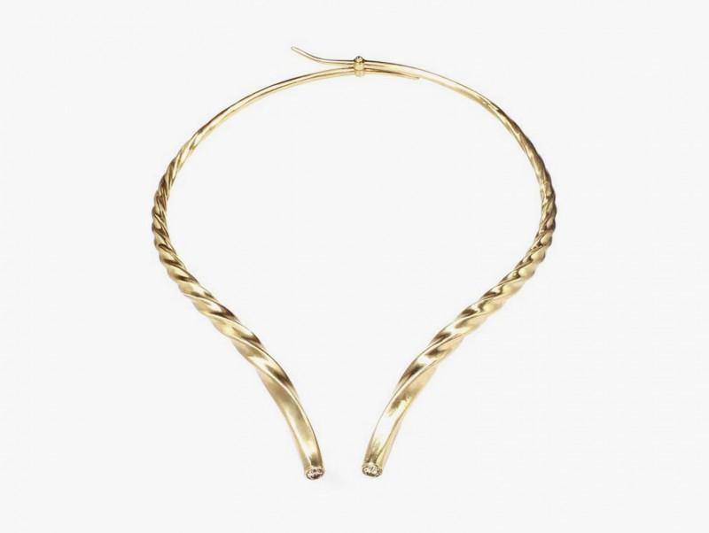 Колье-воротник от Marc Alary из золота с бриллиантами