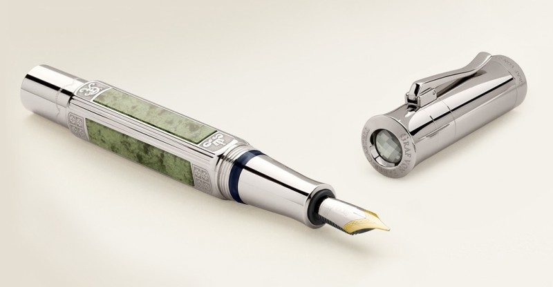 Ручка 2015 года Graf von Faber-Castell Pen of the Year 2015 из платины
