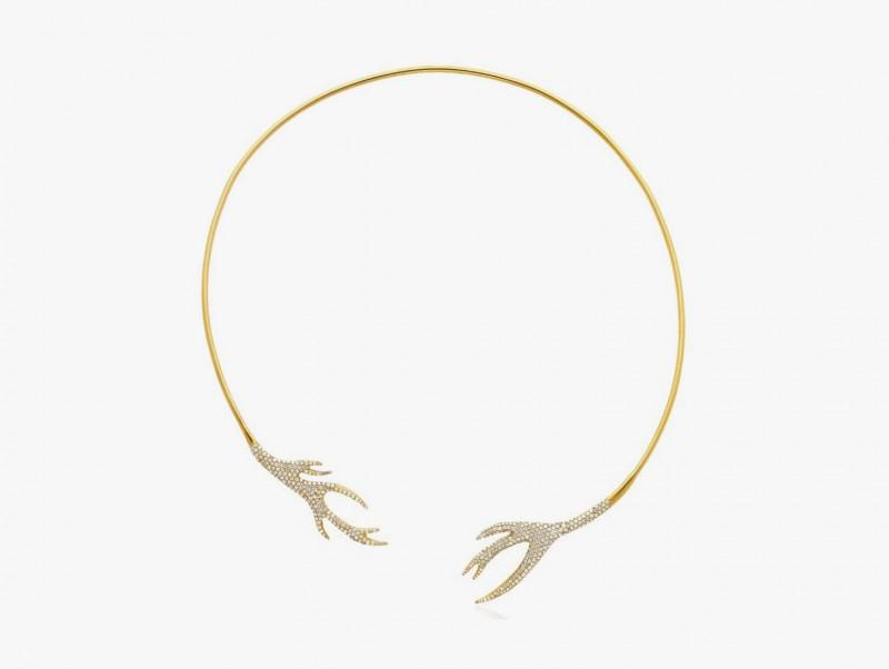 Колье-воротник от Colette из золота с бриллиантами