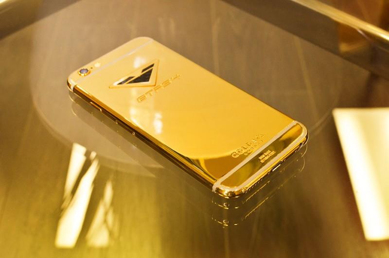 iPhone6 от Vorsteiner и Gold&Co в золотом корпусе
