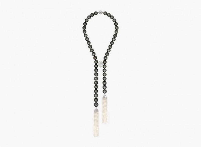 Колье Perles de Nuit от Chanel с жемчугом Таити диаметром от 15 до 18,2 мм.