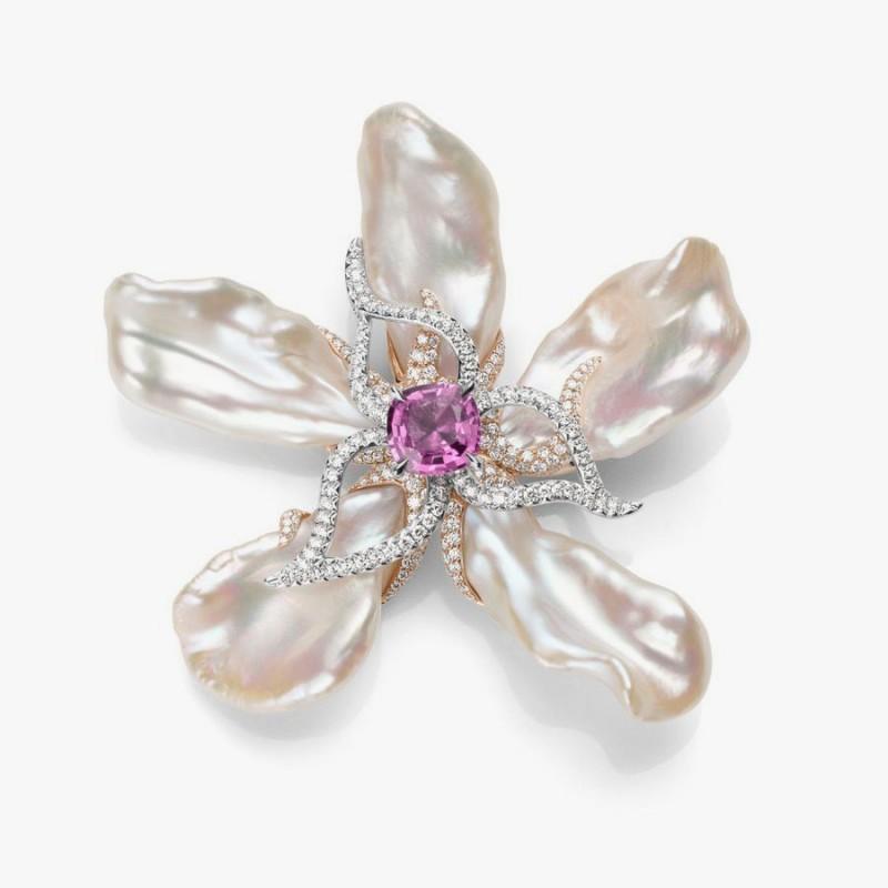 Брошь-цветок Anthea