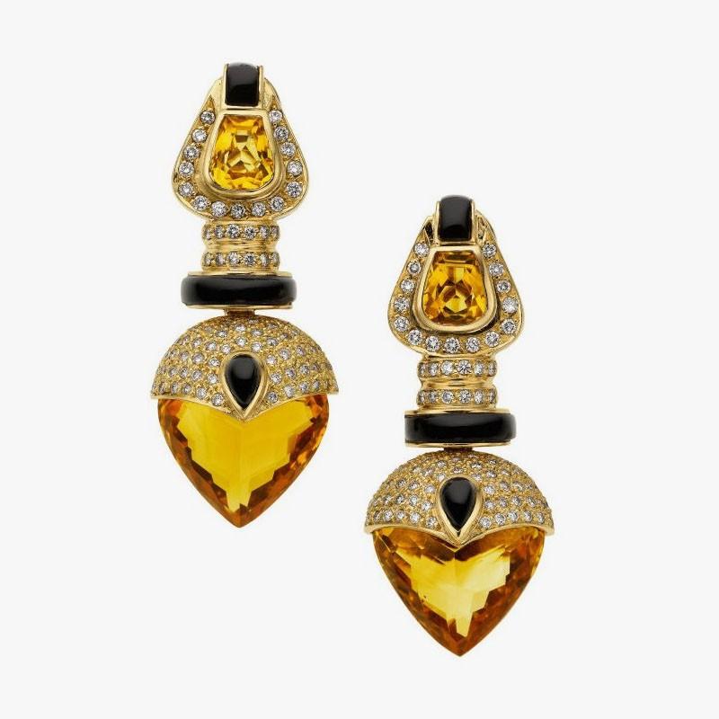 Серьги из золота от Baten