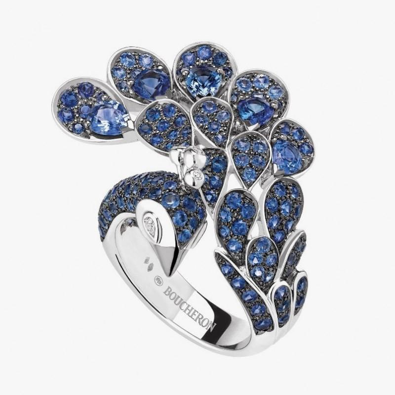 Кольцо-павлин от Boucheron