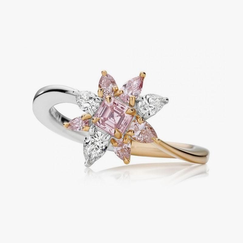Кольцо Fleur Rose от Caleija