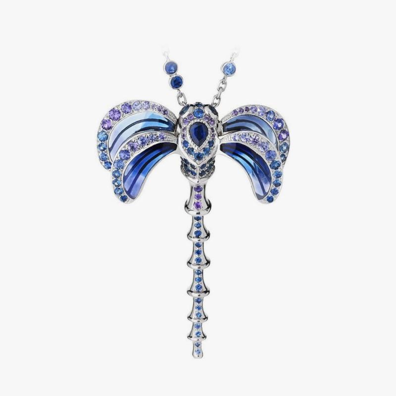 Подвеска-стрекоза от Lalique
