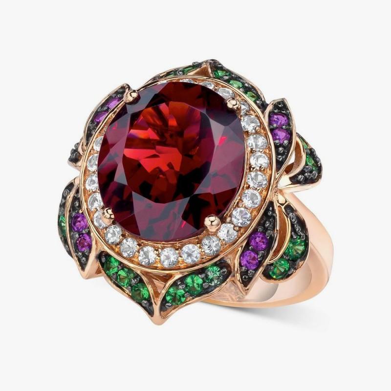 Кольцо-цветок от Le Vian