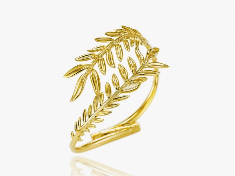 Браслет из коллекции Palme Verte из «ответственного» золота