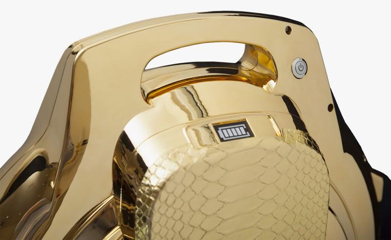 Золотой Segwheel от Goldgenie
