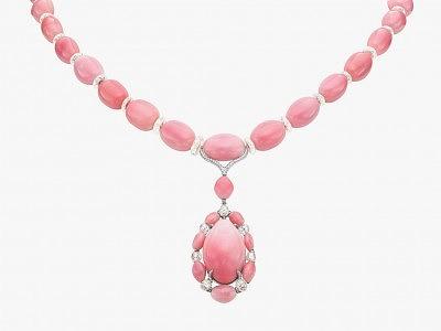 Колье с 32 жемчужинами конк от Boghossian Jewel