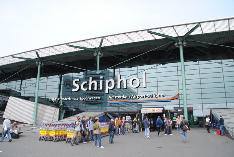 Аэропорт Амстердама, откуда были похищены бриллианты