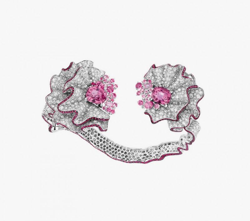 Браслет с сапфирами и бриллиантами из коллекции Soie Dior