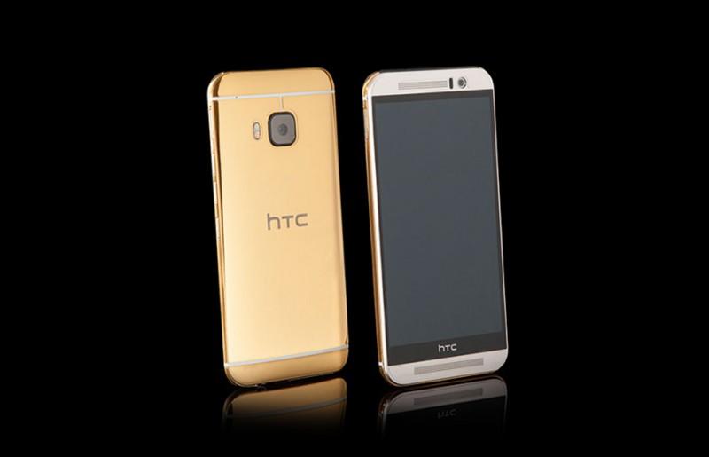 Флагман HTC One M9 от Goldgenie