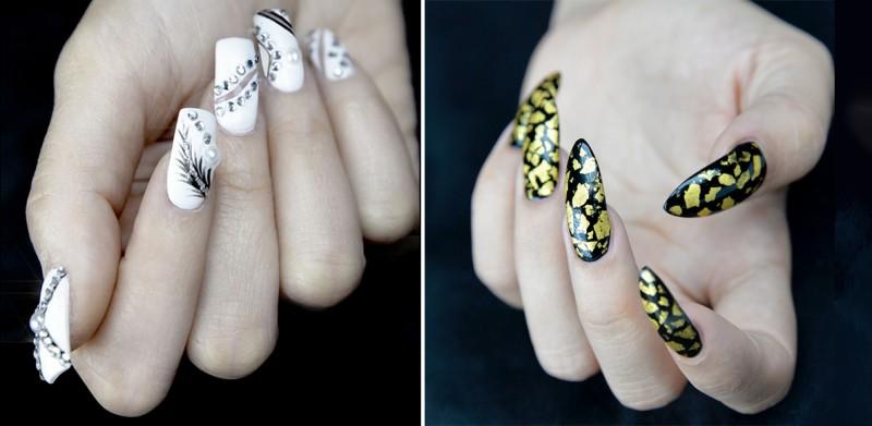 Салон Images Luxury Nail Lounge manicure предлагает маникюр с бриллиантами или лаком из чистого золота Gold Rush от Models Own