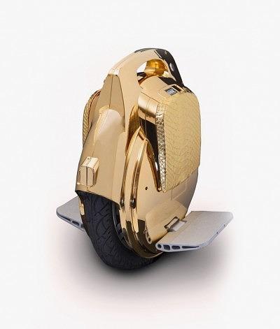 Segwheel от Goldgenie, покрытый золотом